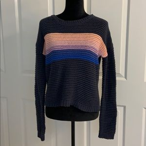 Aeropostale sweater, striped size small